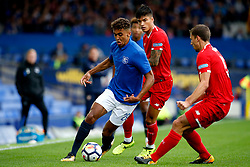Dominic Calvert-Lewin of Everton takes on Clement Lenglet of Sevilla - Mandatory by-line: Matt McNulty/JMP - 06/08/2017 - FOOTBALL - Goodison Park - Liverpool, England - Everton v Sevilla - Pre-season friendly