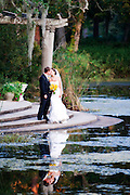 Airlie Gardens Wedding Reflection