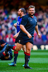 Thomas Francis takes part in the training session - Photo mandatory by-line: Ryan Hiscott/JMP - 29/10/2018 - RUGBY - Principality Stadium - Cardiff, Wales - Autumn Series - Wales Rugby Open Training Session
