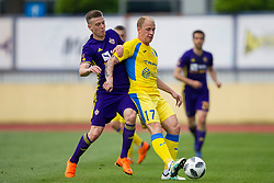 Sanijad Ibracic of NK Domzale during football match between NK Domzale and NK Maribor in Round #32 of Prva liga Telekom Slovenije 2017/18, on May 9, 2018 in Sports park Domzale, Domzale, Slovenia. Photo by Urban Urbanc / Sportida