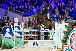 Salome Marion, FRA, Amgoon de Bernieres<br /> Jumping Mechelen 2019<br /> © Hippo Foto - Sharon Vandeput<br /> 28/12/19
