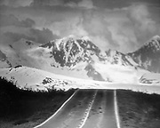 On the Road - the Paved Portion of the Denali Highway ... Most of it was not paved.