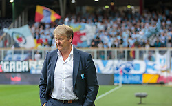 29.07.2015, Red Bull Arena, Salzburg, AUT, UEFA CL, FC Salzburg vs Malmoe FF, Qualifikation, 3. Runde, Hinspiel, im Bild Trainer Age Hareide (Malmoe) // during the UEFA Championsleague Qualifier 3rd round, 1st Leg Match between FC Salzburg and Malmoe FF at the Red Bull Arena in Salzburg, Austria on 2015/07/29. EXPA Pictures © 2015, PhotoCredit: EXPA/ JFK