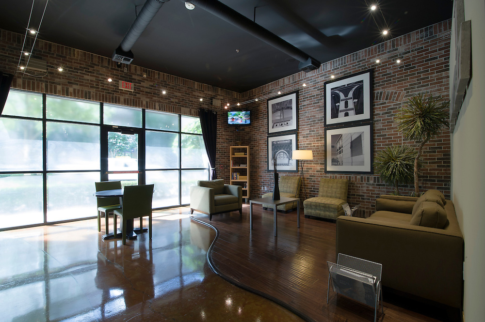 Photograph of the Loft at the Ballpark, a Greystar community, in Downtown, Houston