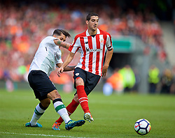 DUBLIN, REPUBLIC OF IRELAND - Saturday, August 5, 2017: Athletic Club Bilbao's Mikel San José a preseason friendly match between Athletic Club Bilbao and Liverpool at the Aviva Stadium. (Pic by David Rawcliffe/Propaganda)