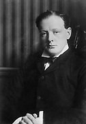 Sir Winston Leonard Spencer-Churchill (1874–24 1965) British statesman. He served as Prime Minister 1940-1945 and again  1951-1955