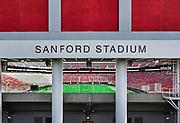 Sanford Stadium on the campus of the University of Georgia campus, Athens, Georgia, USA