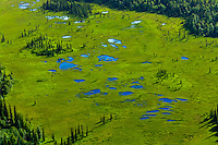 Aerial views south of Anchorage, Alaska