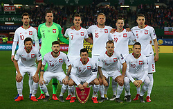21.03.2019, Ernst Happel Stadion, Wien, AUT, UEFA EM Qualifikation, Oesterreich vs Polen, im Bild Mannschaftsfoto Polen // during the UEFA European Championship qualification, group G match between Austria and Poland at the Ernst Happel Stadion in Wien, Austria on 2019/03/21. EXPA Pictures © 2019, PhotoCredit: EXPA/ Thomas Haumer