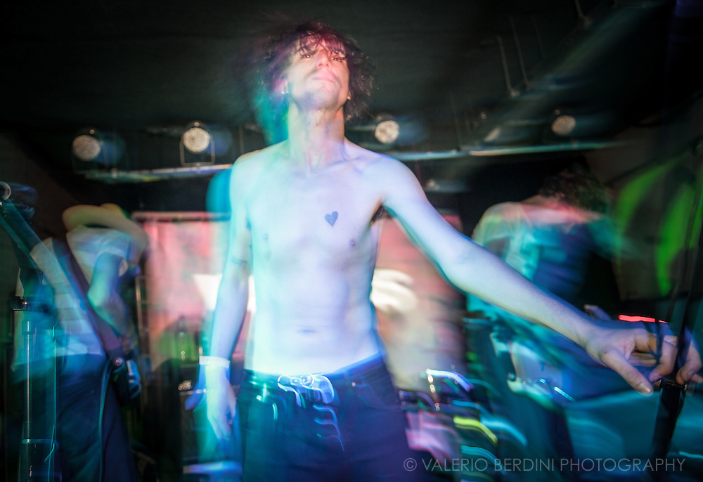 Fat White Family live at the Laundry for Visions Festival 2015 in Hackney, London