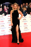 Emily Atack, National Television Awards, The O2, London, UK, 22 January 2019, Photo by Richard Goldschmidt