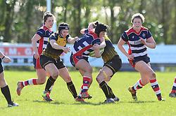 Clara Nielson of Bristol Ladies - Mandatory by-line: Dougie Allward/JMP - 26/03/2017 - RUGBY - Cleve RFC - Bristol, England - Bristol Ladies v Wasps Ladies - RFU Women's Premiership