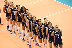 20160725 NED: Nederland - Zuid - Korea, Rotterdam<br />Team Nederland, Wilhelmus<br />&copy;2016-FotoHoogendoorn.nl / Pim Waslander