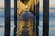 Sunrise at Scripps Pier, La Jolla, California  2010