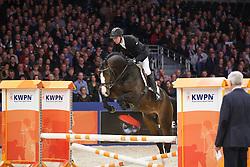 Vrieling Jur (NED) - Freeman VDL<br /> KWPN Stallion Selection - 's Hertogenbosch 2014<br /> © Dirk Caremans