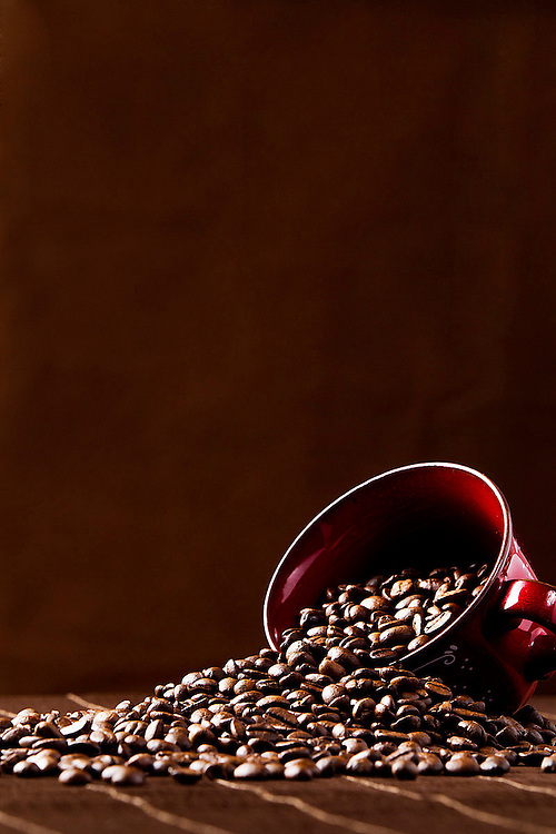 A promotional and advertising photography contract for a new business in Hungary selling different types of coffee and related products to increase imagery for new leaflets, brochures and website use.