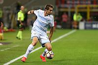 Milano 20.09.2016 - Serie A 2016-17 - 5a giornata - Milan-Lazio - Nella foto: Senad Lulic  - Calcio Serie A - Lazio