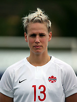 International Women's Friendly Matchs 2019 / <br /> Womens's Algarve Cup Tournament 2019 - <br /> Canada v Iceland 0-0 ( Municipal Bela Vista Stadium - Parchal,Portugal ) - <br /> Sophie Schmidt of Canada