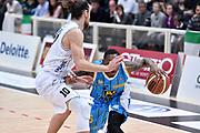 DESCRIZIONE : Trento Lega A 2014-2015 Dolomiti Energia Trento Vanoli Cremona<br /> GIOCATORE : Kenny Hayes<br /> CATEGORIA : palleggio sequenza<br /> SQUADRA : Vanoli Cremona<br /> EVENTO : Campionato Lega A 2014-2015<br /> GARA : Dolomiti Energia Trento Vanoli Cremona<br /> DATA : 23/11/2014<br /> SPORT : Pallacanestro<br /> AUTORE : Agenzia Ciamillo-Castoria/GiulioCiamillo<br /> GALLERIA : Lega Basket A 2014-2015<br /> FOTONOTIZIA : Trento Lega A 2014-2015 Dolomiti Energia Trento Vanoli Cremona<br /> PREDEFINITA :