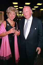 LORD & LADY HAMBRO, he is the banker at a reception in London on 23rd October 2000.OIC 10