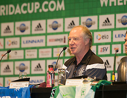 01/07/2018. Orlando, USA.  <br /> Press event to launch the 2018 Florida Cup.<br /> <br /> Rangers Assistant Manager Jimmy Nicol, during the press conference.<br /> <br /> At  Universal Resort, Orlando.<br /> Pic: Mark Davison /PLPA