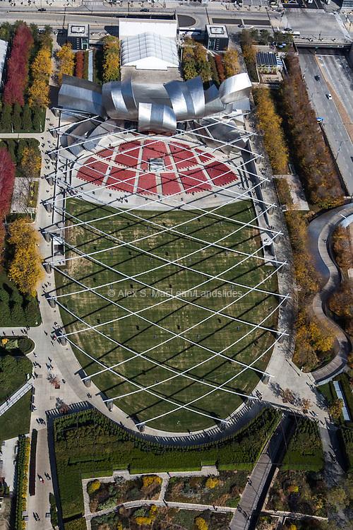Millennium Park, Jay Pritzker Pavillion, designed by Frank Gehry