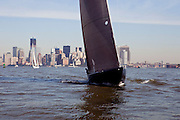 America II sailing in the New York Classic Week regatta.
