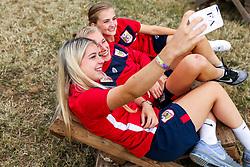 Members of Bristol City Women visit Valley Fest - Rogan/JMP - 03/08/2018 - FOOTBALL - Chew Magna - Bristol, England.