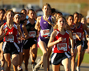 Oct, 20, 2006; Walnut, CA, USA: Rachel Gil of Maranatha places third in the girls Division IV sweepstakes race in 19:11 over the 2.91-mile course in the 59th Mt. San Antonio College Cross Country Invitational.