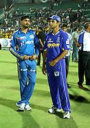 IPL 2012 Match 72 Rajasthan Royals v Mumbai Indians