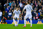 Leeds United defender Ben White (5), on loan from Brighton & Hove Albion,  during the EFL Sky Bet Championship match between Leeds United and Millwall at Elland Road, Leeds, England on 28 January 2020.