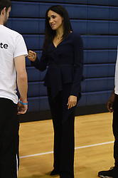 The Duchess of Sussex attends the Coach Core Awards at Loughborough University.