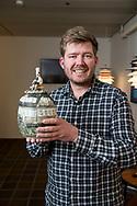 SMVaalborgs hæderslegat 2019 tildeles kokken Kenneth Toft-Hansen, forpagter af Svinkløv Badehotel. Foto: © Michael Bo Rasmussen / Baghuset. Dato: 07.05.19