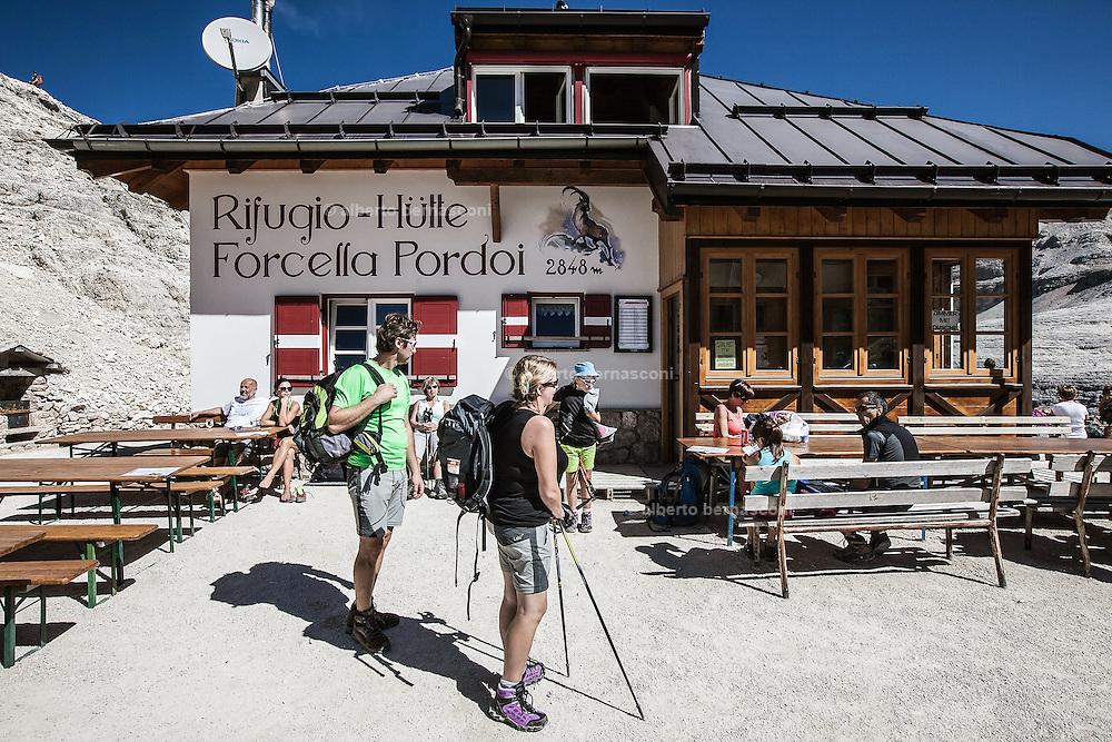 Trentino, Rifugio Forcella Pordoi