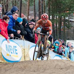 31-01-2016: Wielrennen: WK cyclecross elite: Heusden ZolderHEUSDEN-ZOLDER (BEL) cyclocrossOp het circuit van Terlamen-Zolder streden de elite veldrijders om de mondiale titels in het veld. <br /> WK Zolder: Lars van der Haar