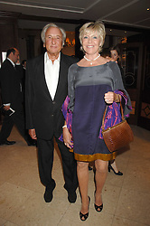 MICHAEL WINNER and GERALDINE LYNTON-EDWARDS at a party to celebrate the 180th Anniversary of The Spectator magazine, held at the Hyatt Regency London - The Churchill, 30 Portman Square, London on 7th May 2008.<br /><br />NON EXCLUSIVE - WORLD RIGHTS
