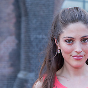 NLD/Amsterdam/20130712 - AFW2013 Zomer editie, modeshow Spijkers & Spijkers, Nadia Palesa Poeschmann