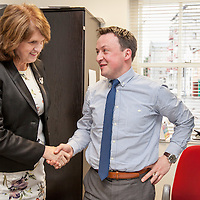 Joan Burton Visiting The Clare People