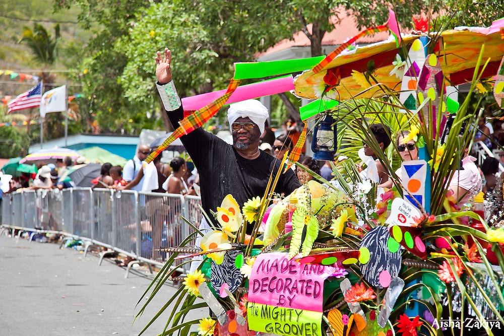 Mighty Groover.  St. John Carnival 2012 © Aisha-Zakiya Boyd