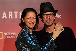 November 8, 2016 - Roma, RM, Italy - Italian actor Francesco Montanari with his girlfriend Andrea Delogu during Red Carpet of the premier of Mars, the largest production ever made by National Geographic  (Credit Image: © Matteo Nardone/Pacific Press via ZUMA Wire)