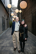 Honoree John Desplas with Donita Sather at the Arts Council New Orleans Community Arts Awards Celebration at the Civic Theatre December 2, 2015