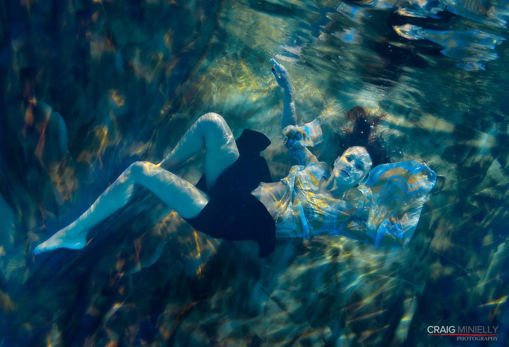 Shannen Underwater by Craig