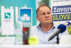 Marko Umberger, president of Tennis Slovenia at Press conference before ATP Challenger Portoroz 2018, on July 17, 2018 in Ljubljana, Slovenia. Photo by Urban Urbanc / Sportida