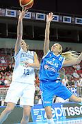 DESCRIZIONE : Riga Latvia Lettonia Eurobasket Women 2009 final 5th-6th Place Italia Grecia Italy Greece<br /> GIOCATORE : Raffaella Masciadri<br /> SQUADRA : Italia Italy<br /> EVENTO : Eurobasket Women 2009 Campionati Europei Donne 2009 <br /> GARA : Italia Grecia Italy Greece<br /> DATA : 20/06/2009 <br /> CATEGORIA : tiro<br /> SPORT : Pallacanestro <br /> AUTORE : Agenzia Ciamillo-Castoria/M.Marchi<br /> Galleria : Eurobasket Women 2009 <br /> Fotonotizia : Riga Latvia Lettonia Eurobasket Women 2009 final 5th-6th Place Italia Grecia Italy Greece<br /> Predefinita :