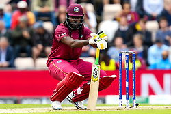 Chris Gayle of West Indies - Mandatory by-line: Robbie Stephenson/JMP - 14/06/2019 - FOOTBALL - Hampshire Bowl - Southampton, England - England v West Indies - ICC Cricket World Cup 2019 group