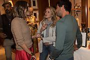 LOUISE ROE; CAGGIE DUNLOP; SCOTT SULLIVAN, Louise Roe: Front Roe - book launch party. Ralph Lauren. New Bond St. London. 1 April 2015