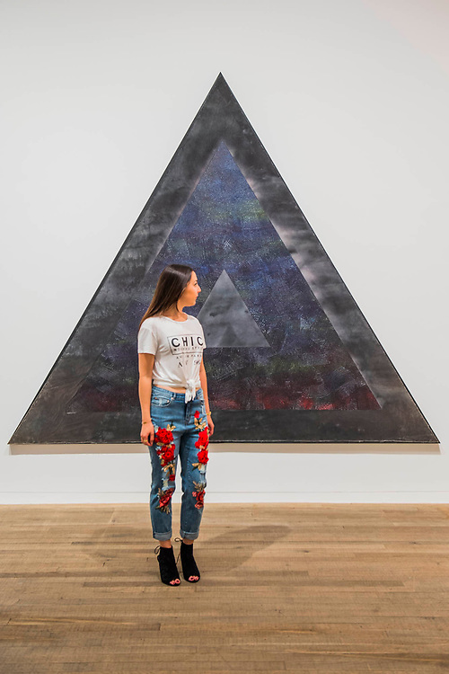 Homage to Malcolm, 1970 by Jack Whitten - Soul of a Nation: Art in the Age of Black Power, Tate Modern's new exhibition exploring what it meant to be a Black artist during the Civil Rights movement.  The exhibition is at Tate Modern from 12 July – 22 October 2017.
