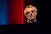 10th Film Festival Lumiere - October 19: Jane Fonda receives the Prix Lumiere 2018.Vincent Delerm performs live on stage during the 10th Lyon Film Festival