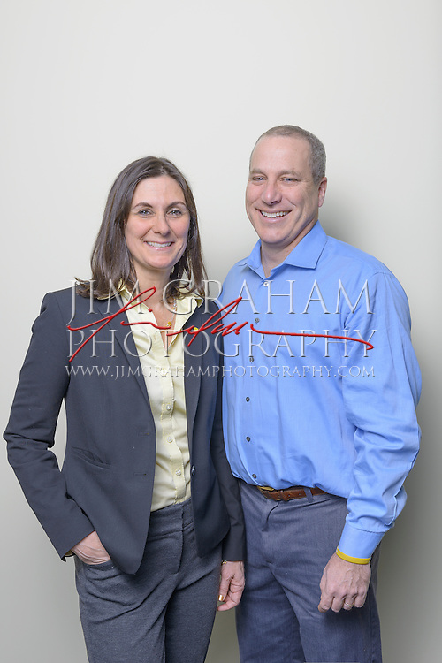 Jay and Liz Scott are Co-Executive Directors  at Alex's Lemonade Stand Foundation based in Bala Cynwyd, PA on Thursday 18 Feb. 2016 Photograph by Jim Graham