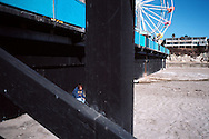 Teen Under the Walk, Santa Cruz Boardwalk, California